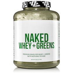 Naked Whey + Super Greens