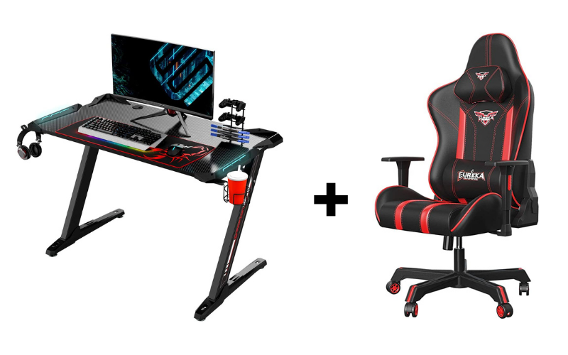Eureka Gaming Desk and Chair review